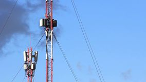 Cell phone towers Stock Image
