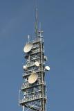 Cell-phonekontrollturm lizenzfreie stockfotografie