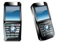 Cell phones Royalty Free Stock Image