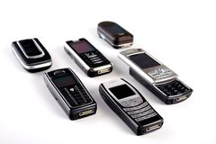 Cell phones Royalty Free Stock Photo