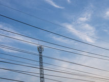 Cell Site Royalty Free Stock Photo