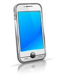 Cell smart phone mobile 3D Royalty Free Stock Photos
