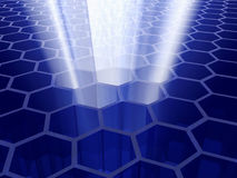 cell- teknologi Royaltyfri Bild