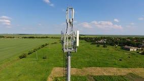 cell- torn Utrustning för att vidarebefordra den cell- och mobila signalen Royaltyfri Fotografi