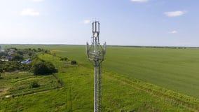 cell- torn Utrustning för att vidarebefordra den cell- och mobila signalen Royaltyfri Bild