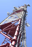 The cell tower Royalty Free Stock Photography