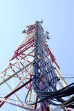The cell tower Royalty Free Stock Photo