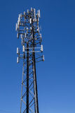 The cell tower. Stock Photo