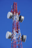 Cell tower closeup Stock Image