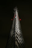 Cell tower at night Royalty Free Stock Photography
