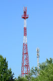 Cell towers Royalty Free Stock Photo