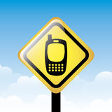 Cell zone signal Royalty Free Stock Photography