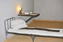 Cella di prigione in Peter ed in Paul Fortress Immagini Stock