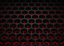 Cella esagonale illustrazione vettoriale