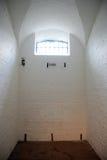 Cella nel Gaol di Kilmainham, Dublino Immagini Stock Libere da Diritti
