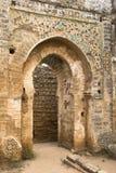 Cellah - oud Roman paleis en necropool royalty-vrije stock afbeeldingen