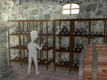 Cellar Stock Photography