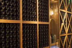 Cellar. This is the edge of the huangpu river in Shanghai, China's very smart bar,Here is in Shanghai of foreign people often party place。This is for the Royalty Free Stock Photo