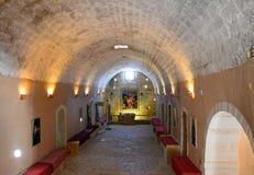 Cellar in Arkadi monastery. Royalty Free Stock Photo