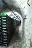 Cellar of Crimean winery on the inside. Royalty Free Stock Photography