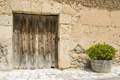 Cellar door Stock Photo