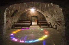 Cellar in the castle Kounice Stock Image