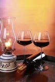 Cellar wine Stock Photo