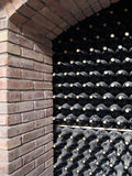 Cellar of wine Stock Photo