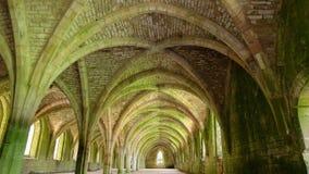 Cellarium de la abadía de las fuentes Foto de archivo libre de regalías