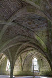 Cellarium  Fountains Abbey Stock Images