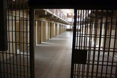 Cellblock da prisão Foto de Stock