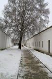 Cellblock de la yarda en el monasterio santo de Euthymius en Suzdal Foto de archivo