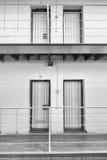 CelldörrFremantle fängelse, västra Australien Royaltyfria Foton