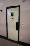 Celldoor de la prisión imagenes de archivo