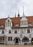 Celle,德国城镇厅  免版税库存图片