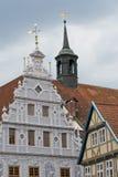 Celle,德国镇大厅  库存照片
