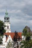 celle πόλη καμπαναριών εκκλησιών Στοκ φωτογραφία με δικαίωμα ελεύθερης χρήσης