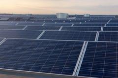 Celle fotovoltaiche Immagini Stock