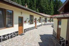 Cellen in het klooster van Heilige Panteleimon in Rhodopes Stock Foto