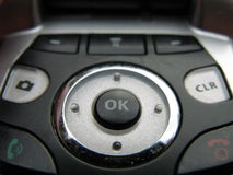 cellen keys telefonen Fotografering för Bildbyråer