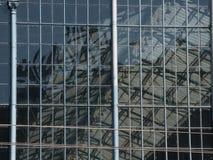 Cellen van de venster de westelijke spoorweg in Boedapest Stock Afbeeldingen