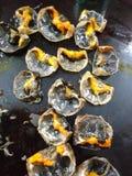 Celler av krabbor Arkivfoton