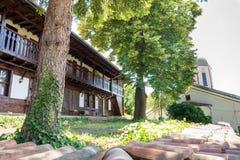 Celler i kloster av St Nicholas royaltyfri foto