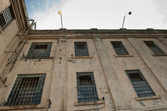 Cellhouse building at Alcatraz Royalty Free Stock Image
