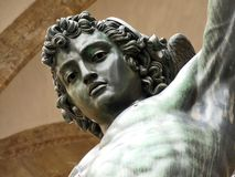 Cellini, Perseus, Florence, Italy Stock Photography