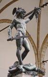 Cellini Perseus (Perseo) Стоковая Фотография