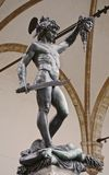 Cellini Perseus (Perseo) stock photography