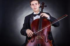 Cellist stock afbeeldingen