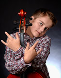 cellist imagen de archivo