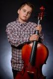 cellist fotografía de archivo
